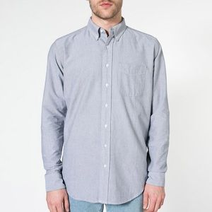 Unisex Classic Oxford Button Down Dress Shirt